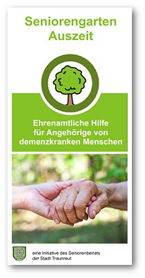 Flyer Seniorengarten