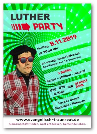 Flyer Lutherparty