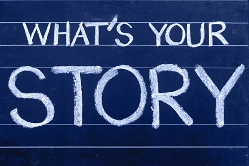 Ermutige andere durch Deine Geschichte