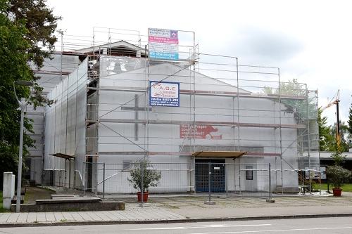 Sanierung Pauluskirche Traunreut