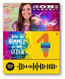 Spotify-Playlist Kindergottesdienst Traunreut