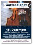 Flyer Ruperti-Orchester Gottesdienst