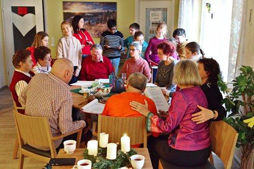 Demenz Traunreut Seniorengarten