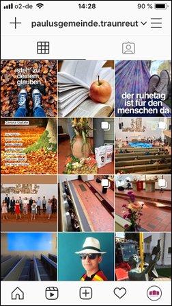 Die Paulusgemeinde Traunreut auf Instagram