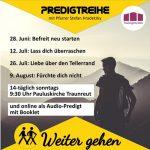 Predigtreihe Traunreut Hradetzky